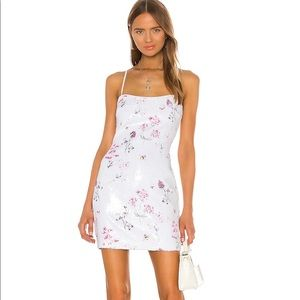 Likely Floral Sequin Reese Dress